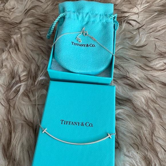 Tiffany & Co Tiffany T Smile Pendant NIB